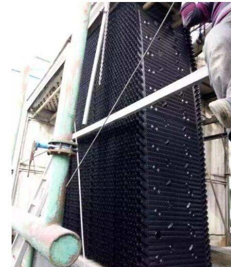方形冷却塔填料